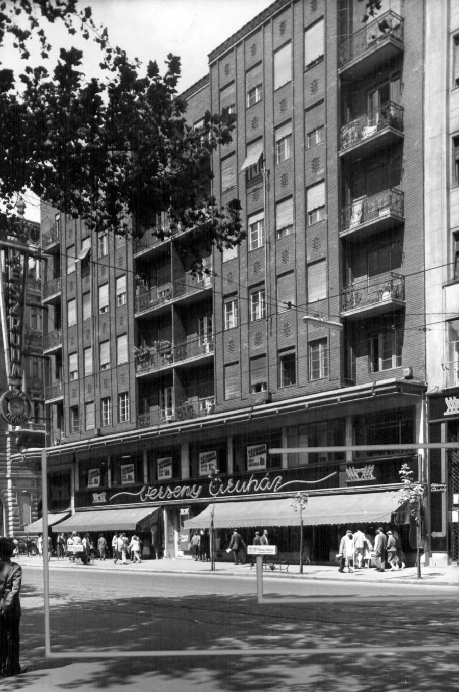 Apartments Rákóczi street 66.