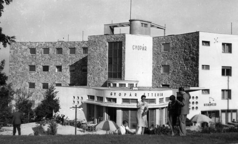Gyopár Hotel (SZOT retreat)