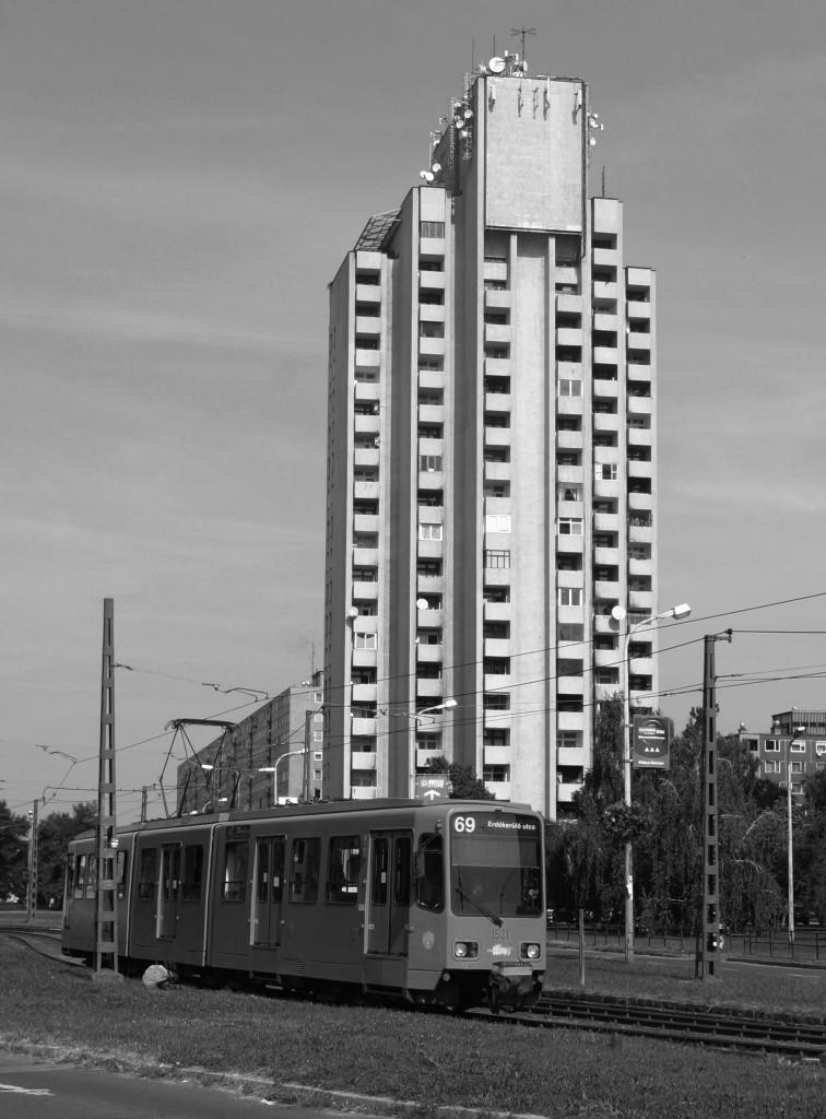Ùjpalota 'Watertower' building