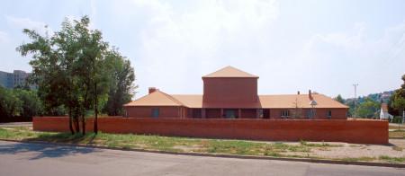 Protestant church in Békasmegyer